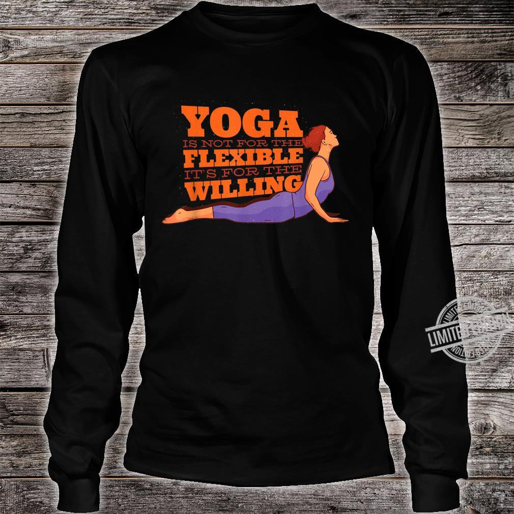 YOGA MOTIVATION Shirt long sleeved