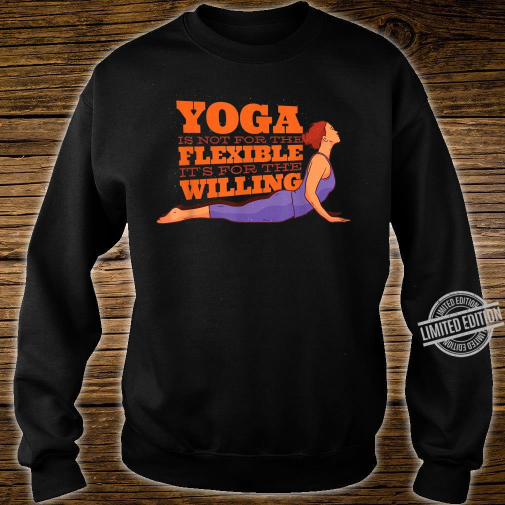 YOGA MOTIVATION Shirt sweater