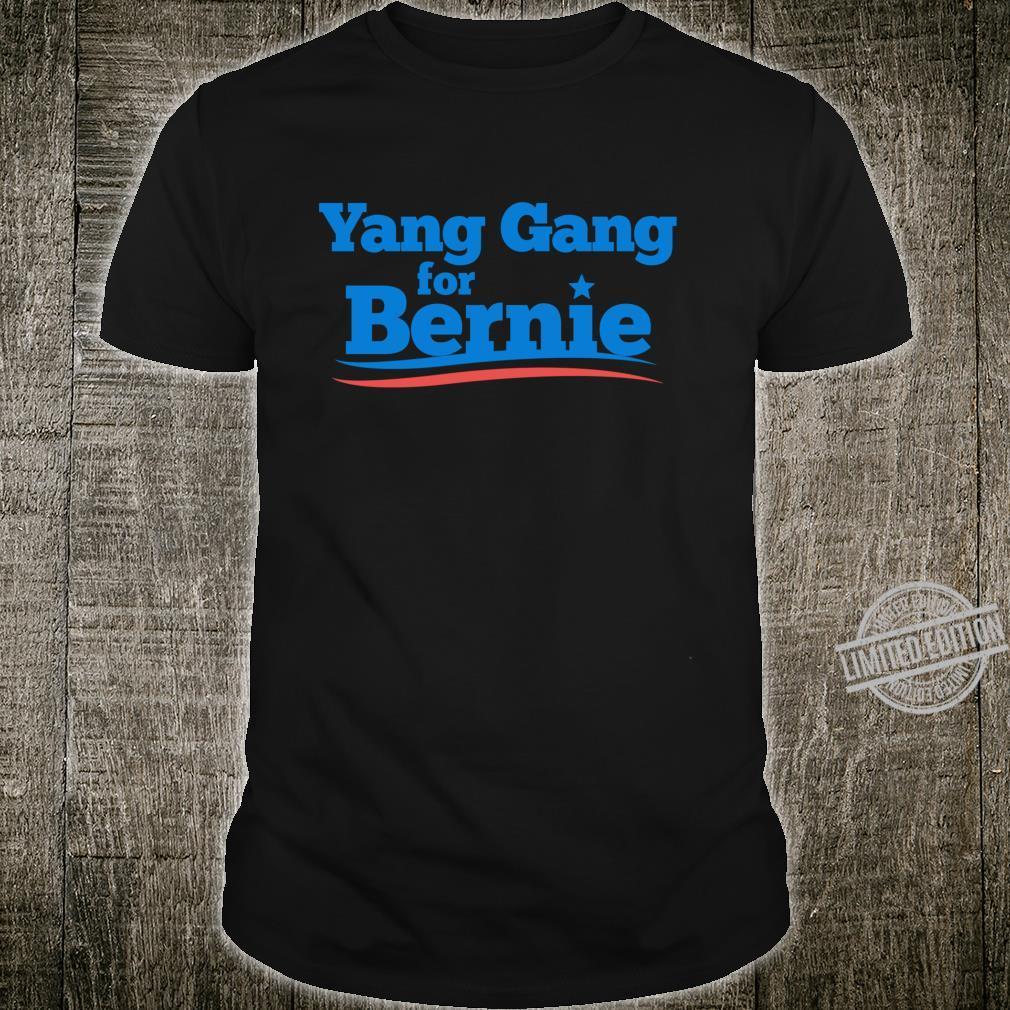 Yang Gang For Bernie 2020 Shirt