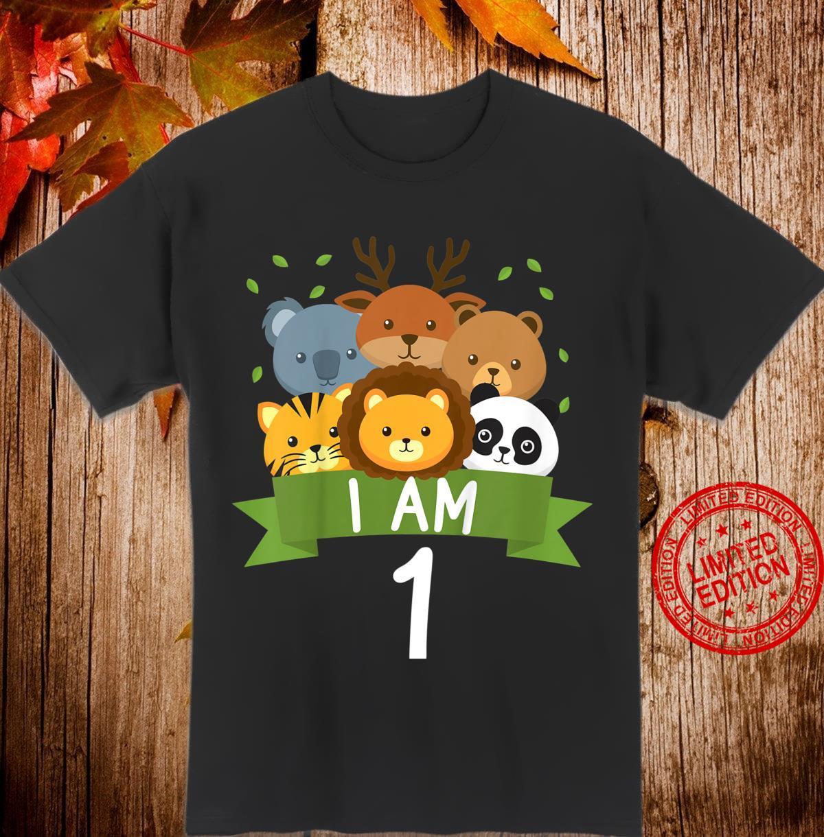 Youth 1st birthday Children's birthday First birthday animals Shirt